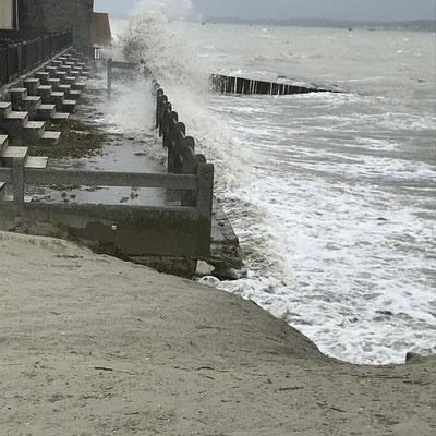Grandes marées au Crotoy