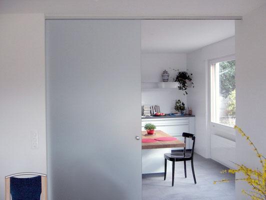 raumteiler schiebet ren glas boog in witten. Black Bedroom Furniture Sets. Home Design Ideas