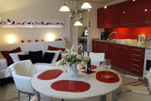 Ferirnwohnung Valencia, Villa Gandia Hills, Wohnzimmer