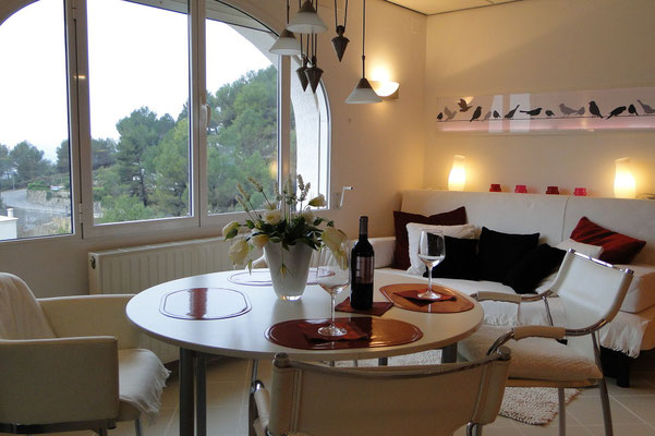 Ferienwohnung Valencia, Villa Gandia Hills, Wohnzimmer