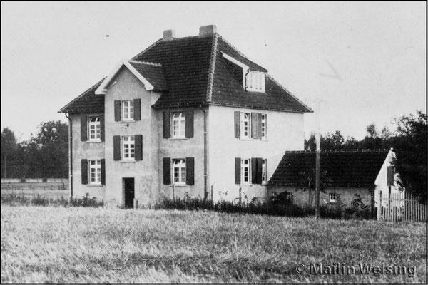 Das Haus um 1924