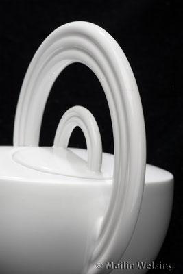 Teekanne Cupola Nera im Detail