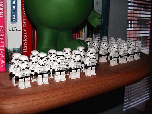 Lego Star Wars - Sturmtruppen vollzählig angetreten