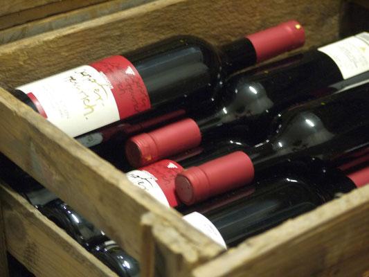 In der Weinabteilung