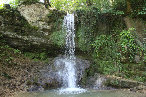 der höchste Wasserfall im Kanton Aargau 5.4 m