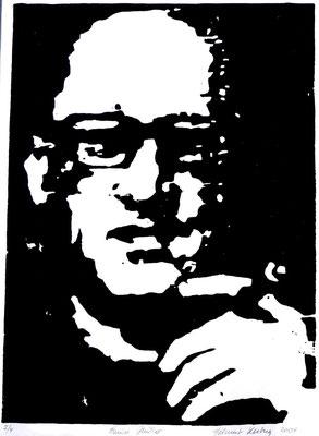 Heiner Müller, 22 x15 cm