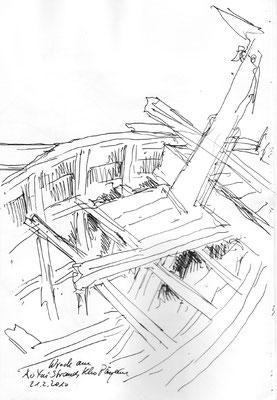 Shipwreck, Ko Payam, 2010