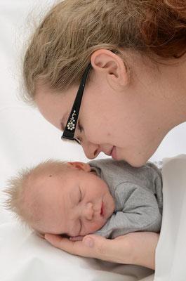 Noah Höbel Baby und Clarissa Höbel