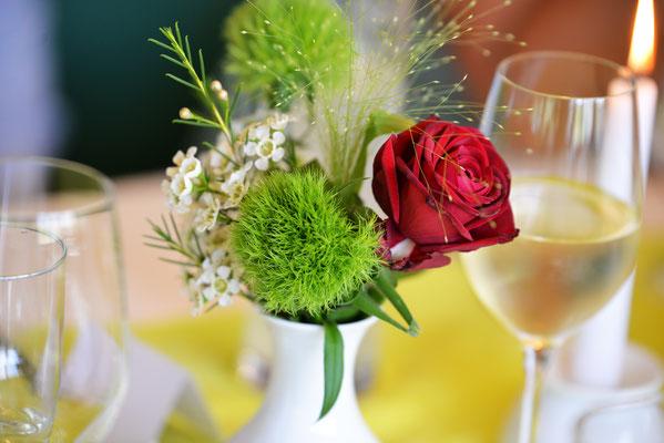 Blumen Deko Veranstaltung Rose