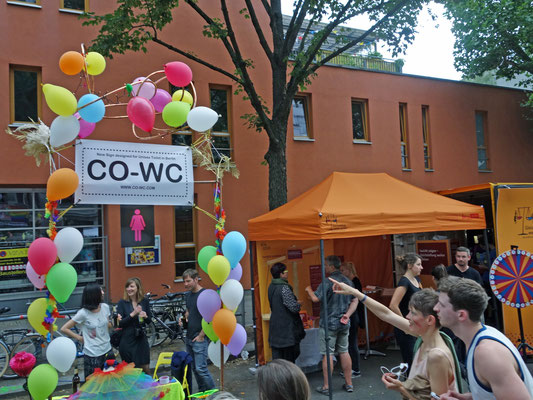 People pay attention to CO-WC Lesbian and Gay City Festival