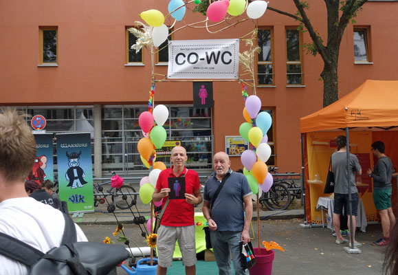 CO-WC besucht Lesbisch-schwules Stadtfest Berlin