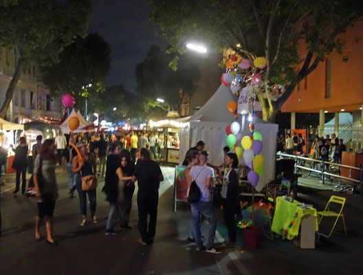 CO-WC at Lesbian and Gay City Festival by Night