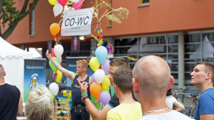 """Come Out of Water Closet"" at Lesbian and Gay City Festival Berlin"