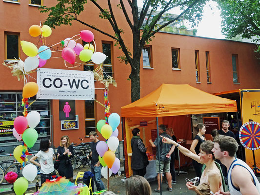 Fun with CO-WC at City Festival in Berlin