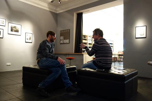 Interview Paul Jonczyk und Franz Brandmeier in Eisenherz