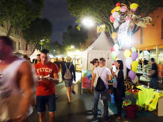 Come Out of Water Closet by Night at Lesbian and Gay City Festival