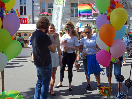 Paul Jonczyk talks about CO-WC at Lesbian and Gay City Festival Berlin