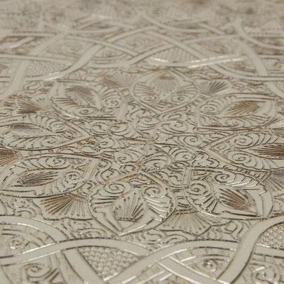 Ägyptischer Tisch mit gemusterter Tischplatte - CASAORIENT Stuttgart