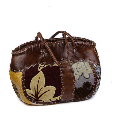 Orientalische Handtasche mit Blumenmuster - CASAORIENT Stuttgart