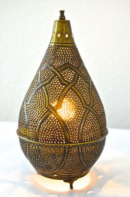 Ägyptische Messinglampe kegelform - CASAORIENT Stuttgart