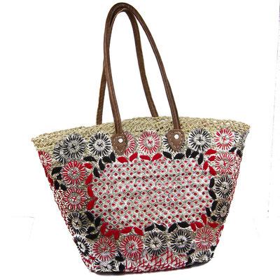 Orientalische Handtasche mit floralem Muster - CASAORIENT Stuttgart
