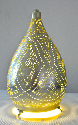 Ägyptische Silberlampe in Kegelform - CASAORIENT Stuttgart
