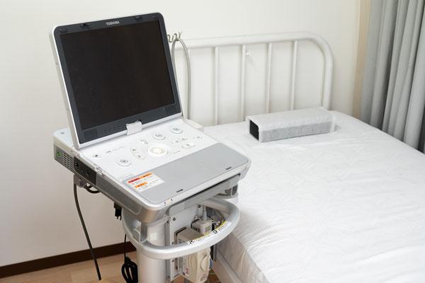 超音波エコー検査(腹部、甲状腺など)