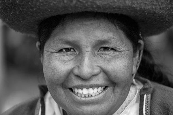 Portrait einer peruanischen Frau I Peru