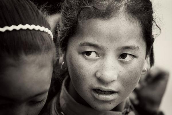 Der Blick eines jungen Mädchens I Ladakh