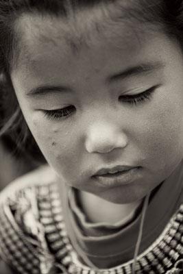 Ein Mädchen am träumen I Ladakh