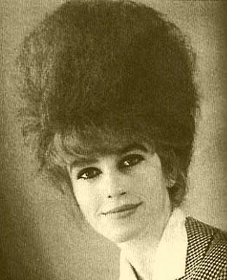 """Anita Shaw, Ehefrau von Eddy Shaw (Bassist der Hanauer Beat-Band """"The Monks"""")"""