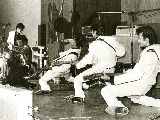 """Die legendären """"Tillman Brothers"""" (Indo-Rock-Band, in den 60s regelmäßig in Hanau zu Gast)"""