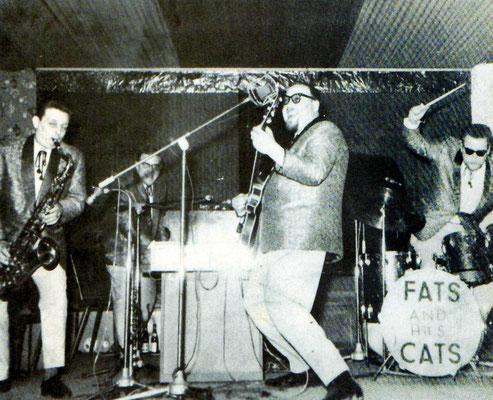 """""""Fats & His Cats"""" spielen in einer unbekannten Hanauer Bar"""