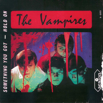 "Single-Cover der Hanauer Beat-Band ""The Vampires"""
