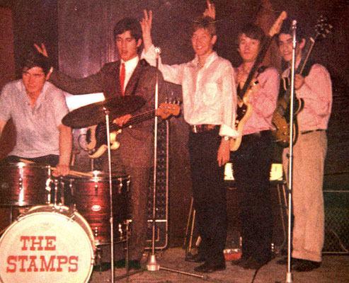 "Hanauer Beat- und Soul-Band ""The Stamps"""