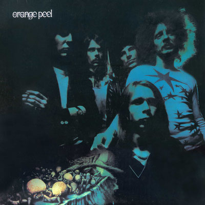 "LP-Cover der Hanauer Beat- / Psychedelic-Band ""Orange Peel"""