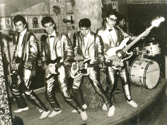 The Crazy Rockers (Indo-Rock-Band, in den 60s regelmäßig in Hanau zu Gast)
