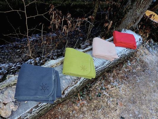 Terrassendecke aus Fleece