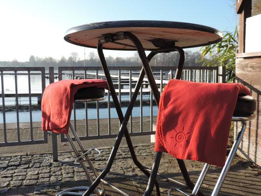 Warme Decken für die Außengastronomie