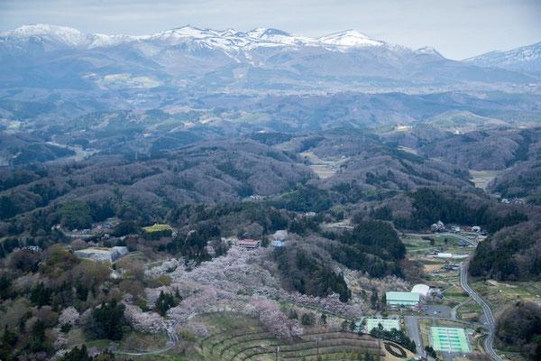 二本松城全景