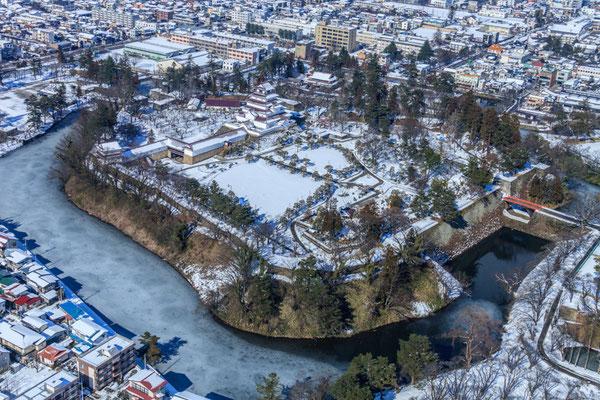 冬の鶴ヶ城が好きです1