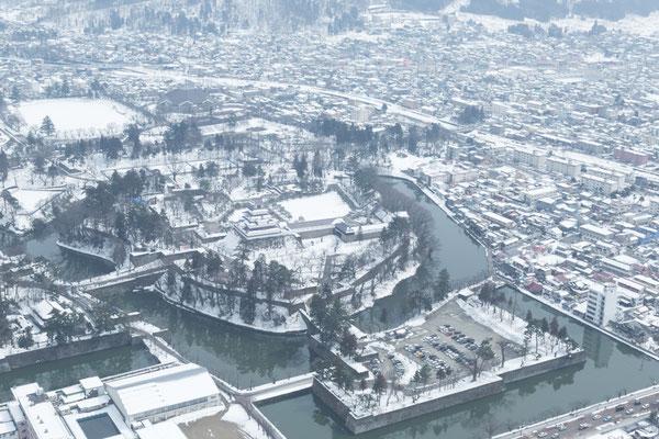冬の鶴ヶ城が好きです2
