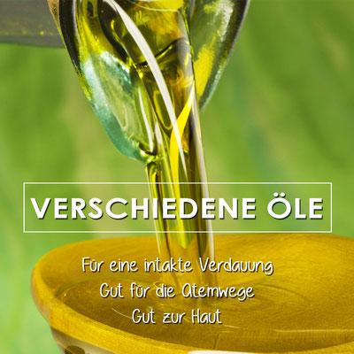 Leinöl, Schwarzkümmelöl, Mariendistelöl, Hanföl, Kokosfett, Kokosöl für Pferde und Hunde