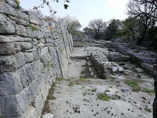 antike Stadt Troja