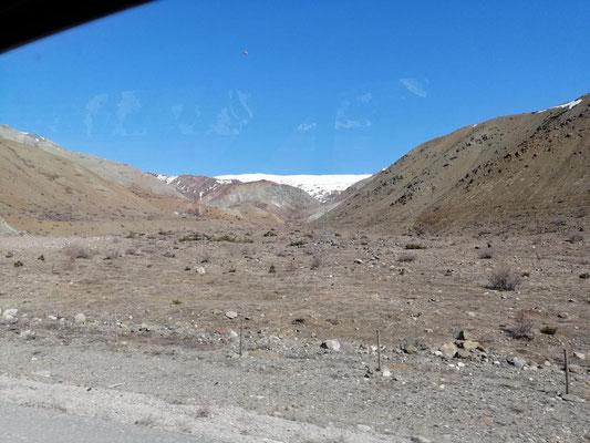 nochmals geht es über die Berge
