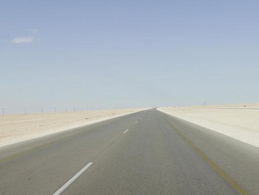 endlose Wüste