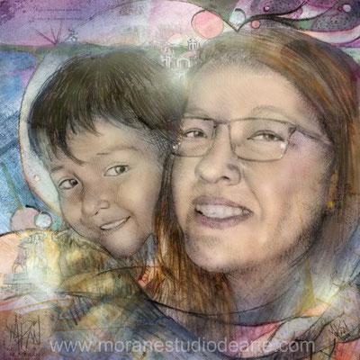 Hijo y madre