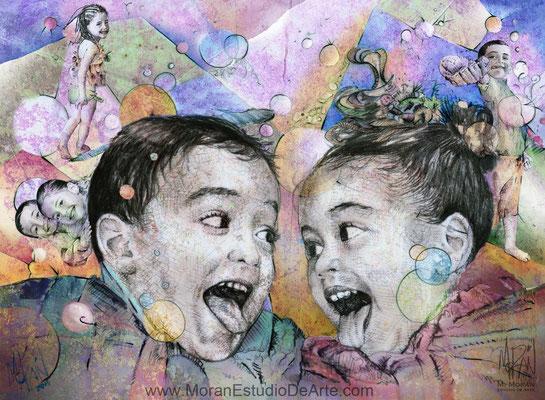 como decorar con fotos de los hijos