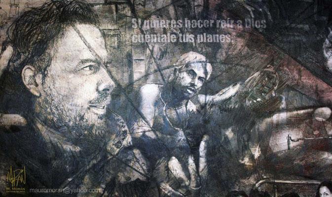 Alejandro González Iñarritu, Amores Perros, Mural en la Cinetéca Nacional, 20 años de Cine en México