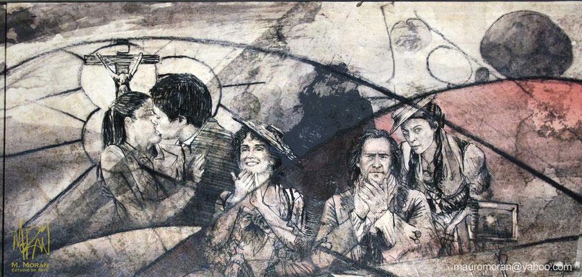 El crimen del Padre Amaro, Hidalgo la historia jamás contada, Mural en la Cinetéca Nacional, 20 años de Cine en México